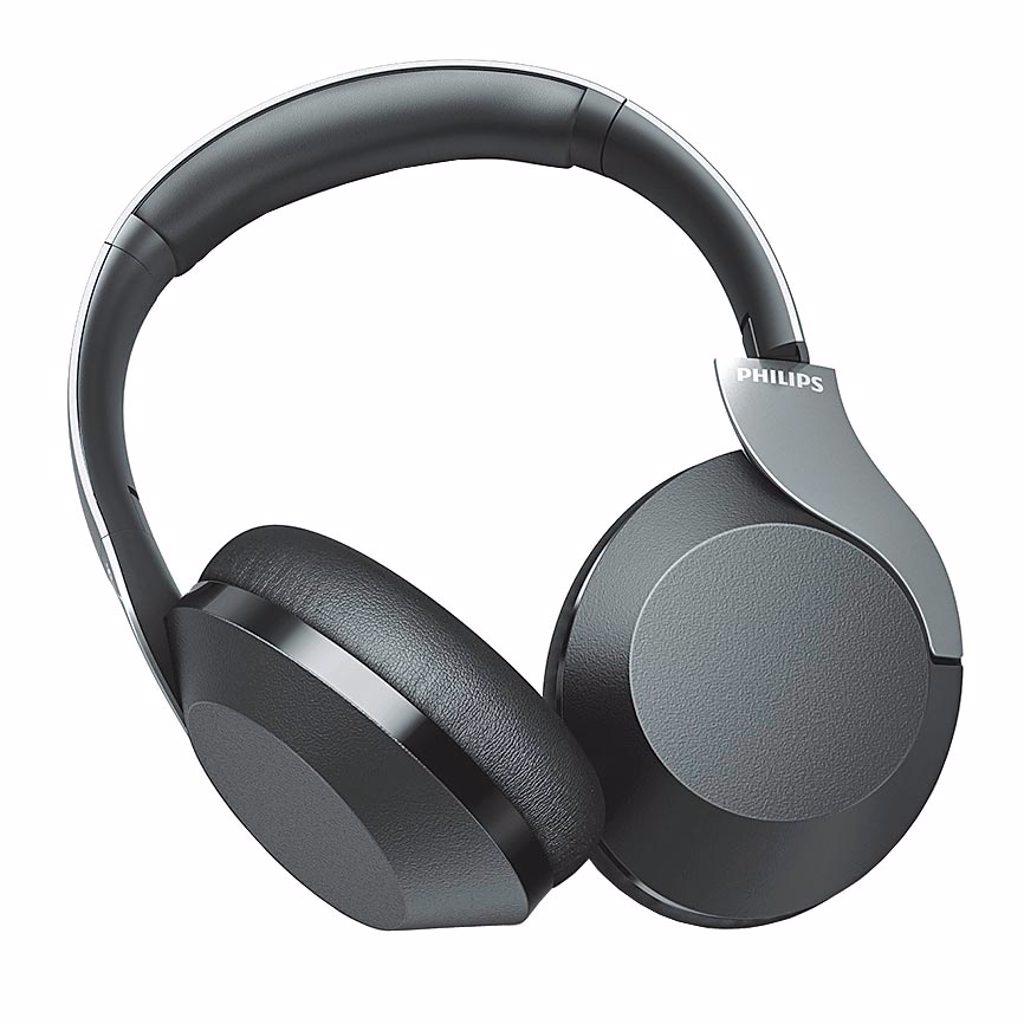 飛利浦的TAPH805覆耳式無線主動式降噪耳機,5299元。(飛利浦提供)