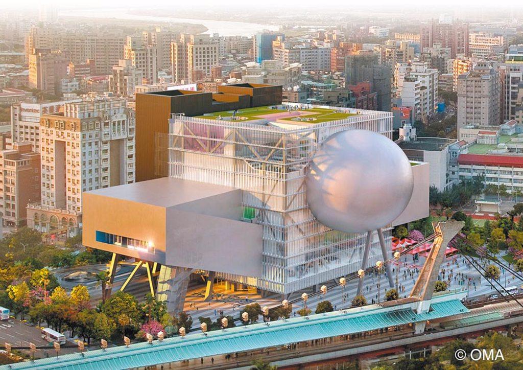 士林台北表演藝術中心也將成為「無圍牆博物館」串聯的場域與南港北流和信義松菸,形成「5+3」的區域串聯。(北市文化局提供/游念育台北傳真)