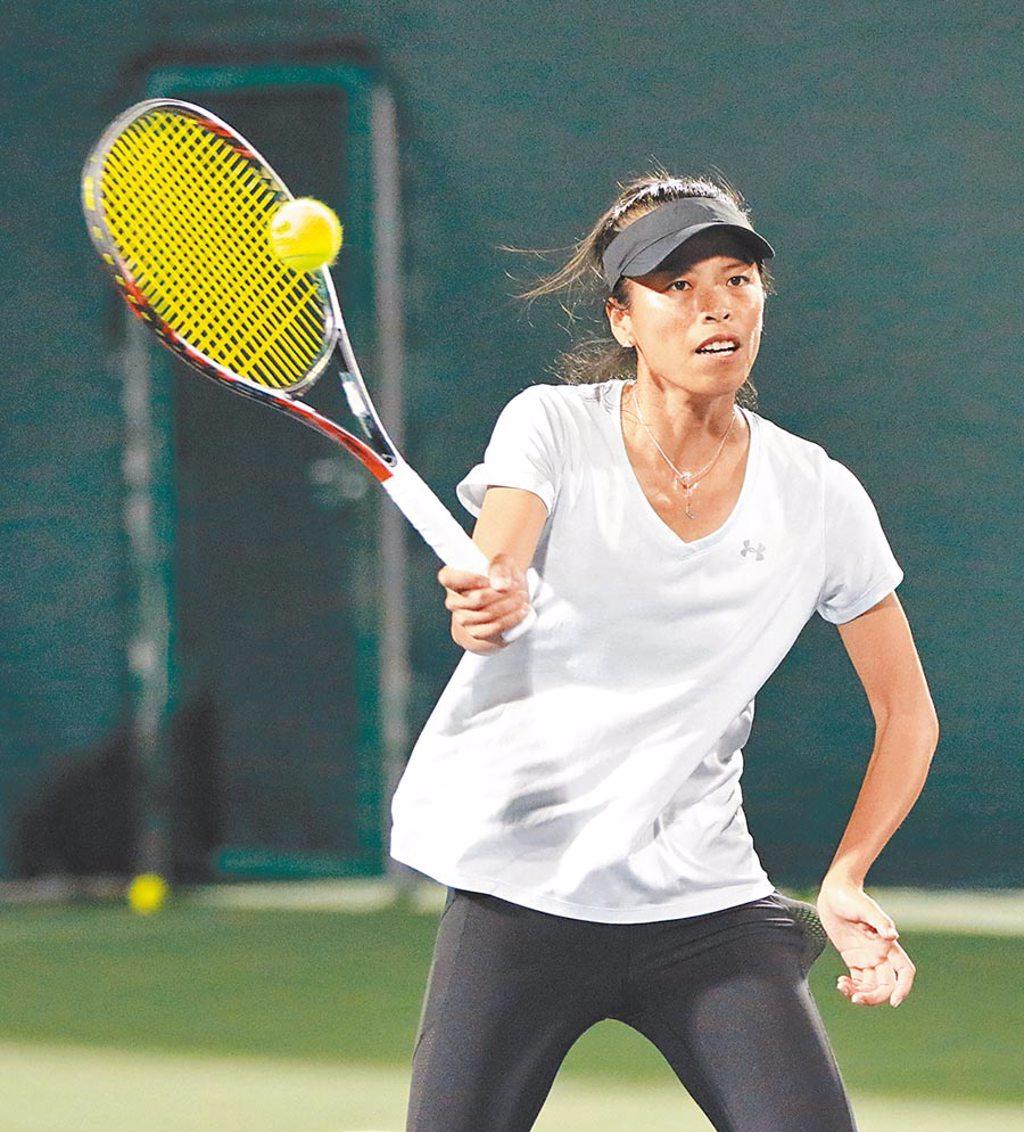 考慮個人傷勢及疫情,謝淑薇在臉書粉專宣布不參加美網賽。(資料照片/四維體育推廣教育基金會提供)