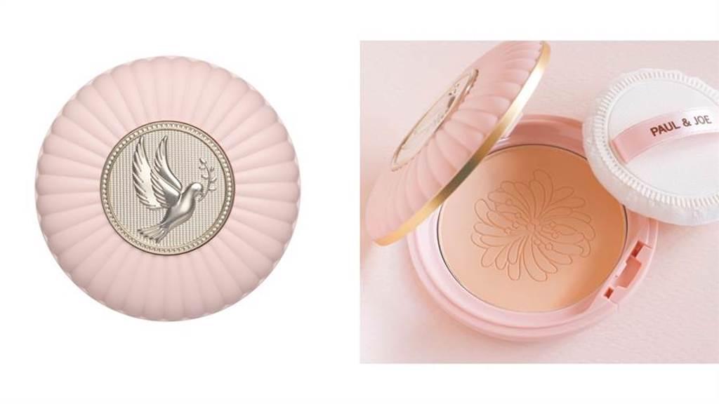 PAUL & JOE和平鴿限量蜜粉餅盒,美麗優雅的和平鴿圖騰搭配奢華精緻的線條,讓妳的化妝包增添裝飾藝術的美感。(圖/品牌提供