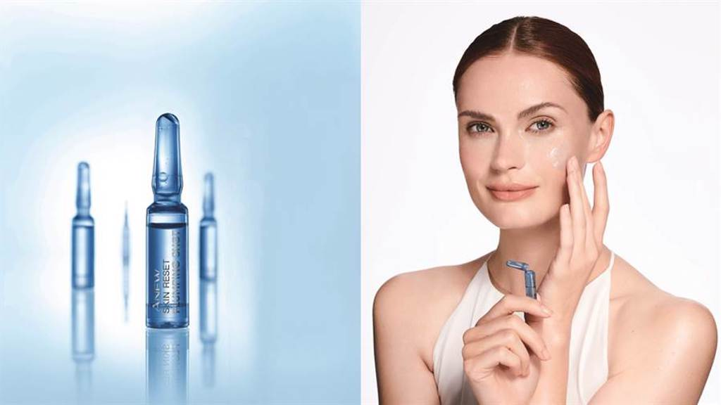 AVON雅芳新活特彈安瓶於夜間取代精華液的步驟使用,一天一瓶,連續使用7天。建議每個月使用7天,喚回澎彈緊實美肌。(圖/品牌提供)