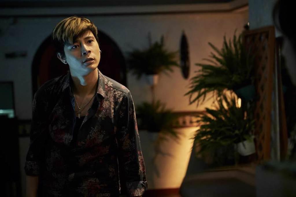 柯朋宇透露在《追兇500天》 與小薰拍完親熱戲後爆哭到無法停止。(七十六号原子提供)