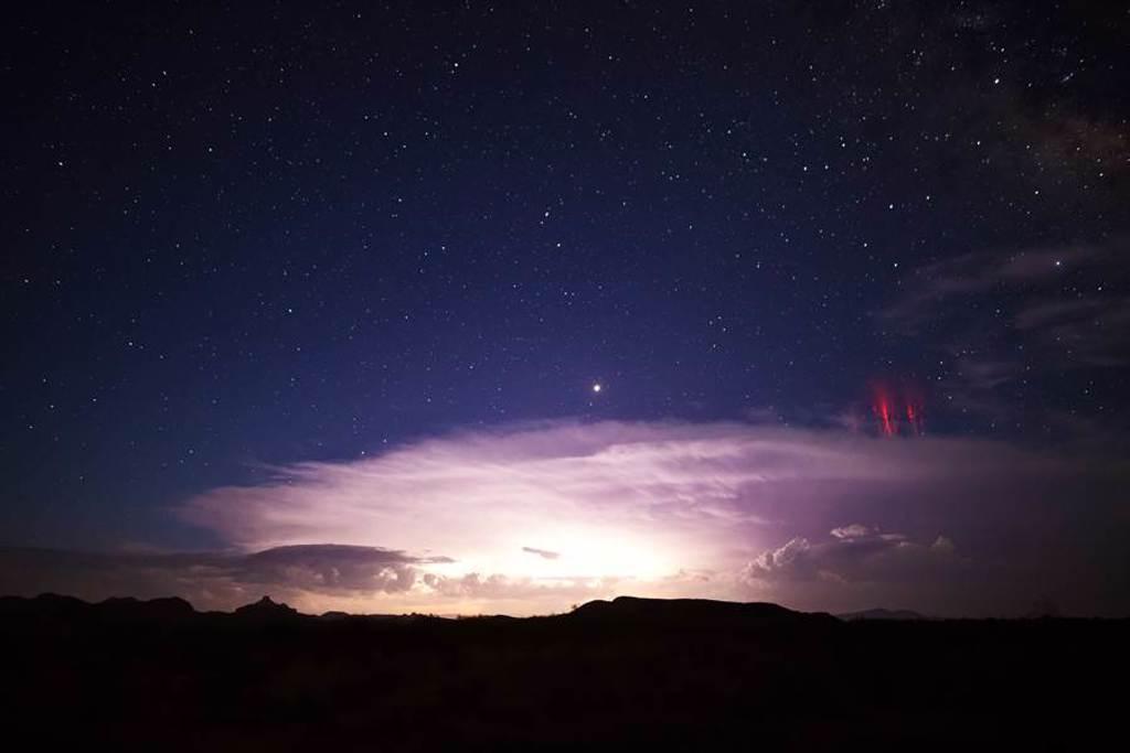 天空驚現巨型「紅色水母」 專家:肉眼很難看到 (示意圖/達志影像)