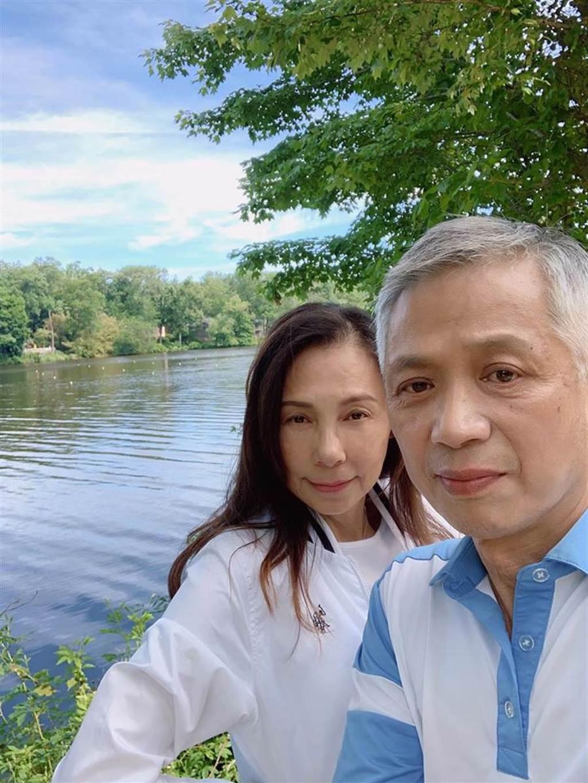徐淑媛和老公結婚21年。(圖/FB@徐淑媛)