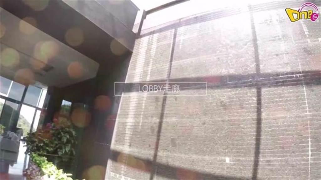 李元玲公開豪宅,玄關處有人造瀑布。(圖/翻攝自東網)