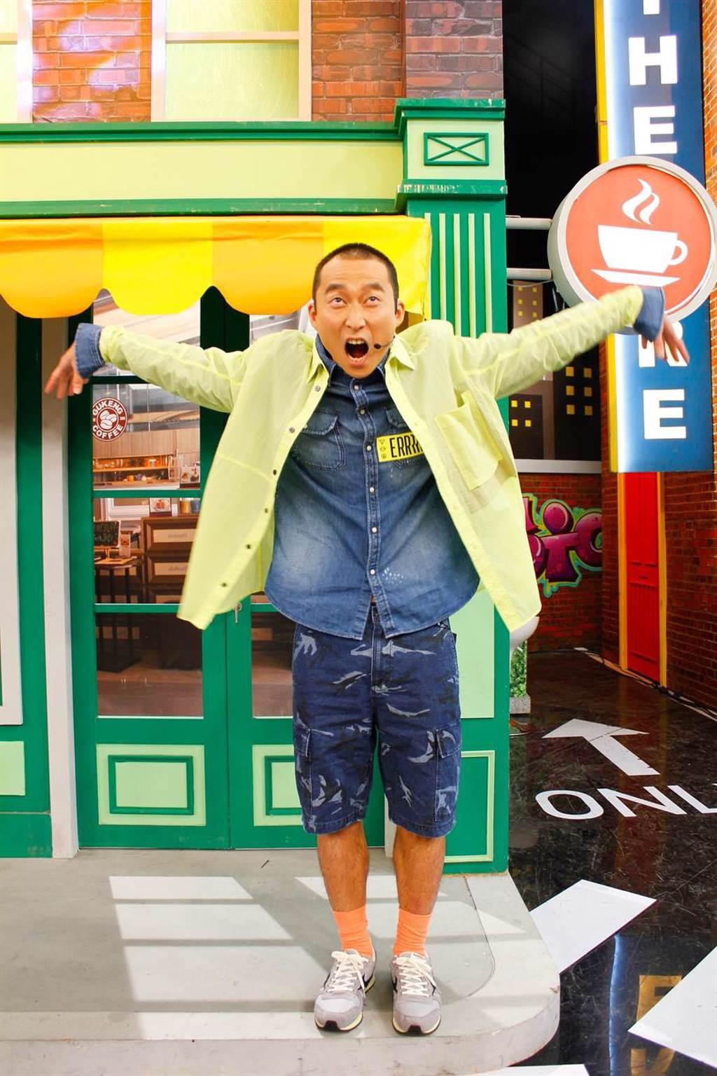 浩子今錄影表示暑假陪孩子們全台玩透透。(衛視中文台提供)