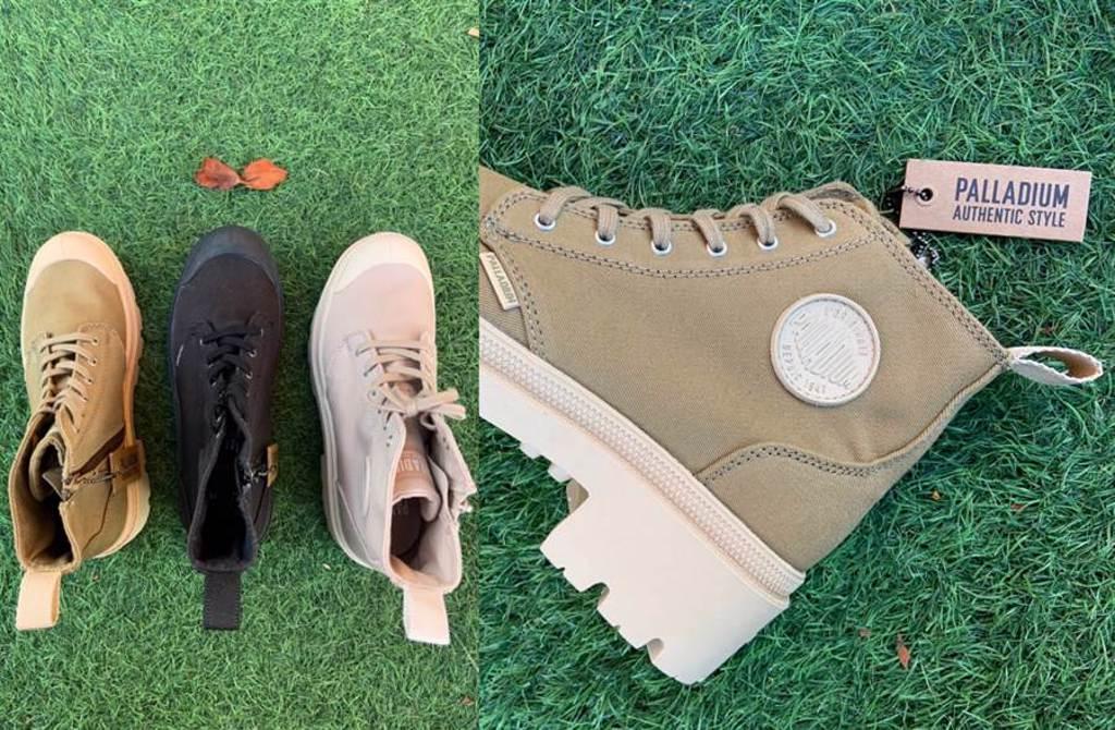 秋季必收美腳系巧克力神靴 進化版厚底一秒逆天增高6cm(圖/楊婕安攝)