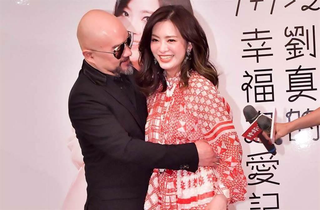 劉真病逝,丈夫辛龍悲痛不已。(資料照片)