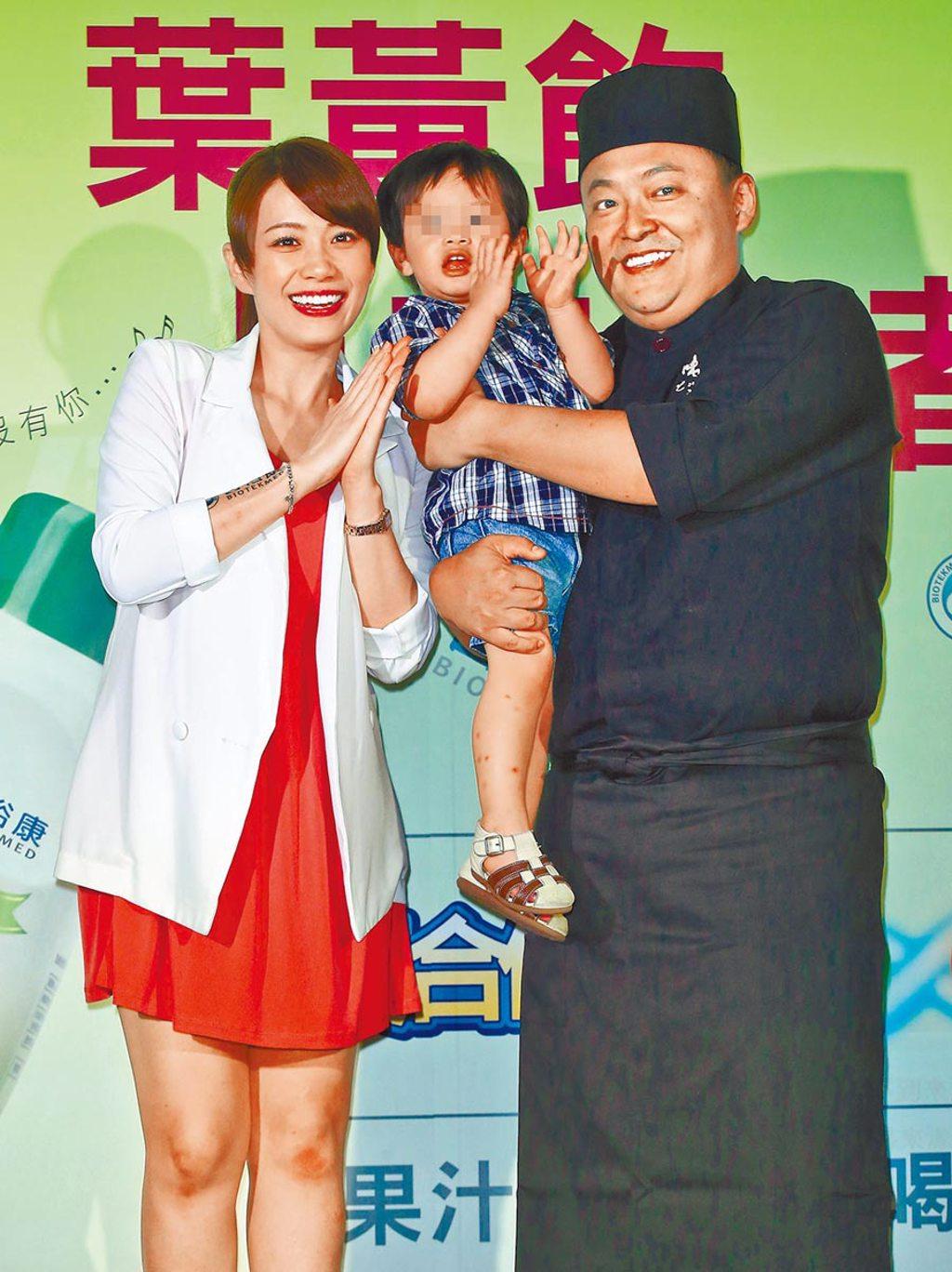 郭宗坤(右)、柯以柔的離婚官司陷膠著。(資料照片)