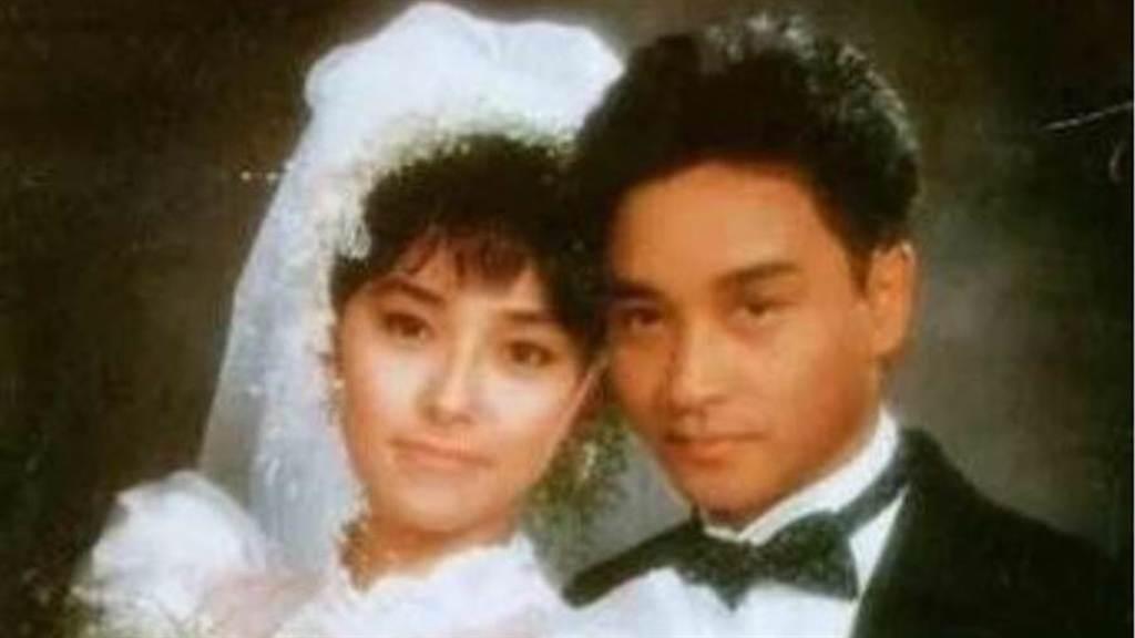 朱寶意曾和張國榮是螢幕情侶。(圖/微博@朱寶意Emily)