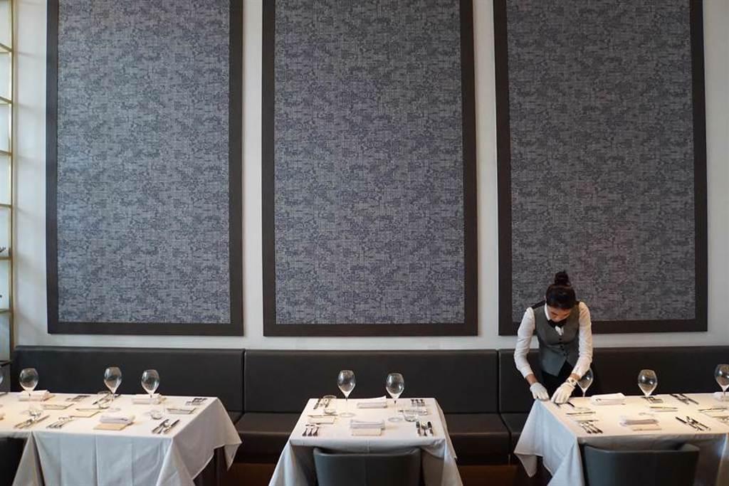台中「鹽之華」 法式料理餐廳,也將在台中米其林指南中得到星級肯定。(圖/姚舜)