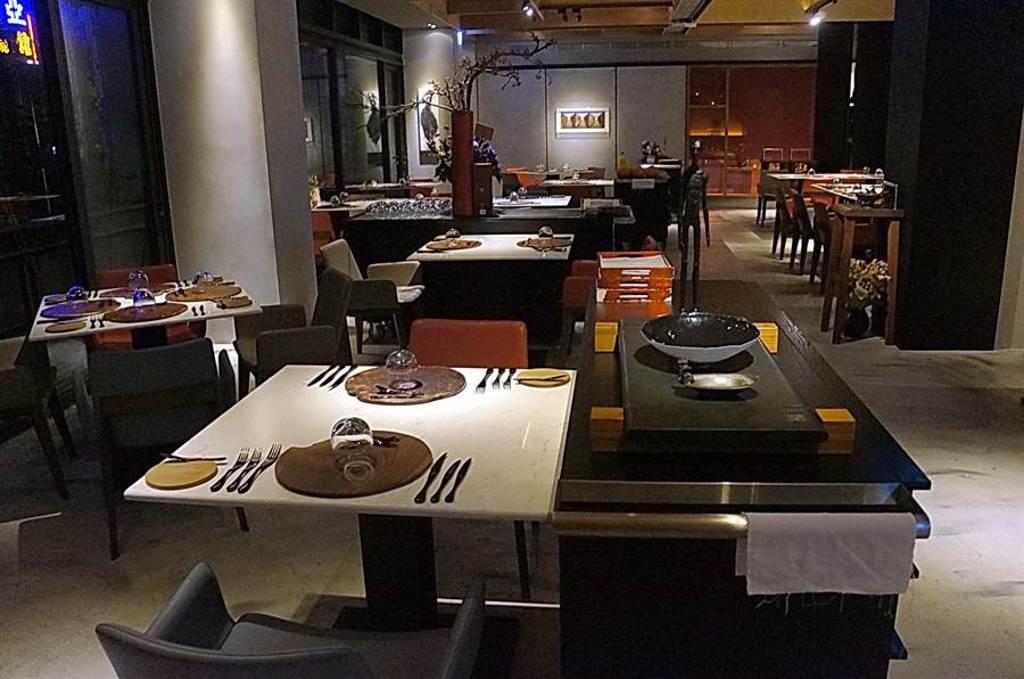 讀音近似「火氣大」的Forchetta餐廳,也將列入米其林星級餐廳。(圖/姚舜)