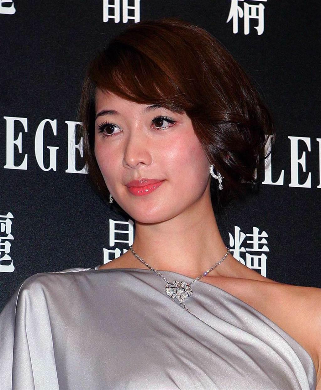 林志玲當年臉型較圓潤。(圖/本報系資料照片)