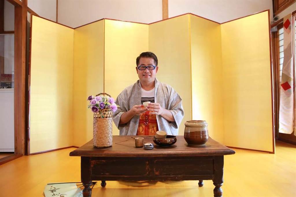 雲林縣台西鄉海口故事屋「古日本風情」特展,讓民眾不出國也能感受異國風情。(丁仁桐提供/張朝欣雲林傳真)