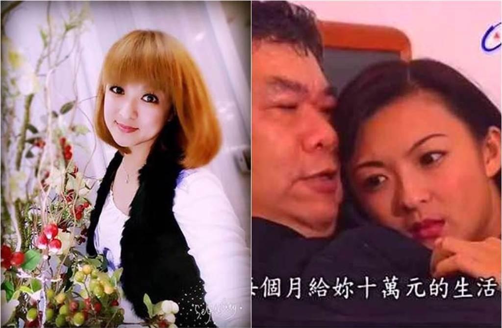林芷薇在劇中常飾演苦情女,現實生活一樣坎坷。(圖/翻攝臉書、YouTube)