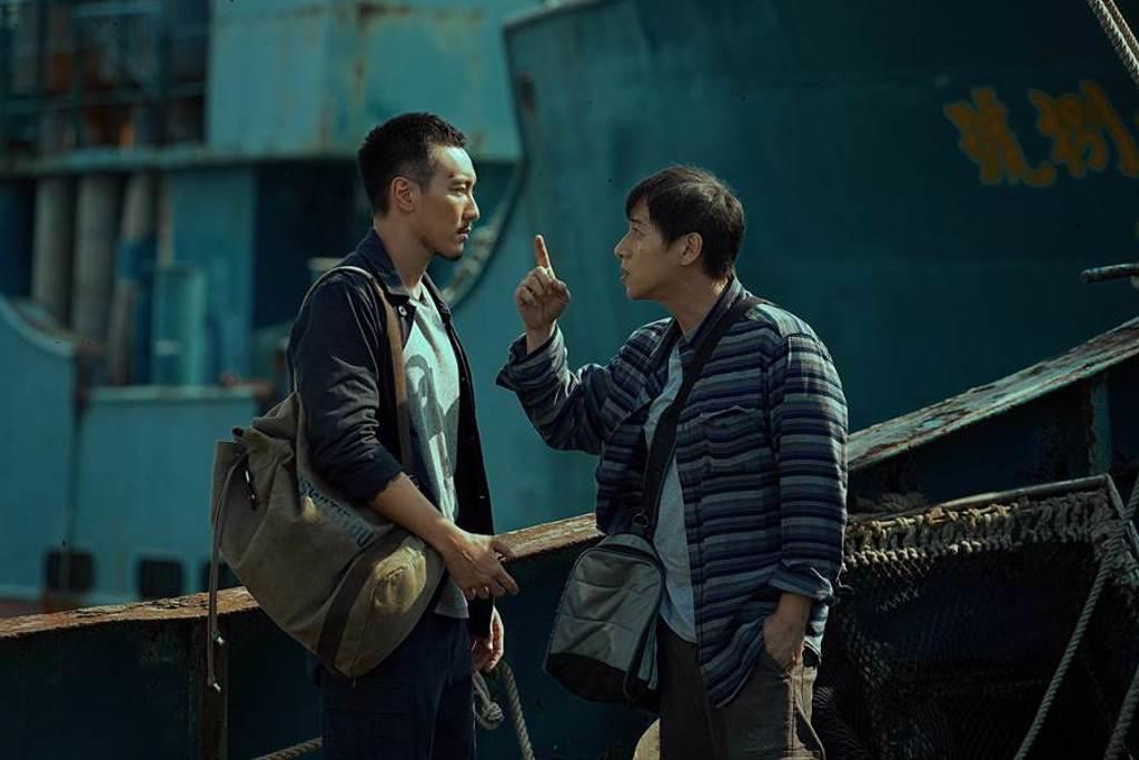 王陽明、鄭人碩在《海霧》中有大量打鬥和動作戲。(海樂提供)