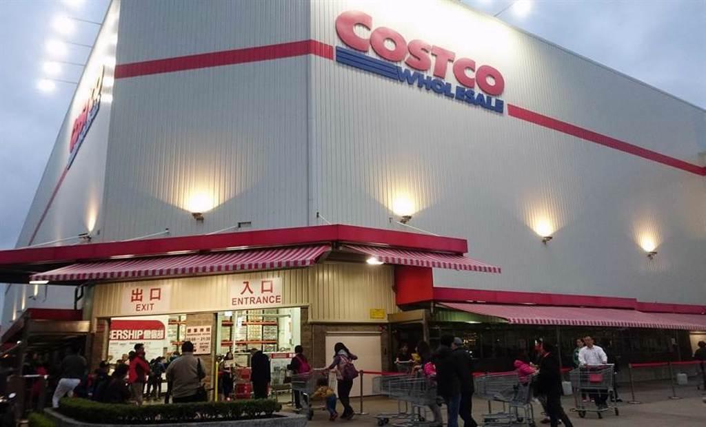 美式大賣場好市多Costco深受國人喜愛,一到假日總是大排長龍。(本報資料照)