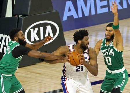 NBA》孤掌難鳴?七六人又遭塞爾提克痛宰