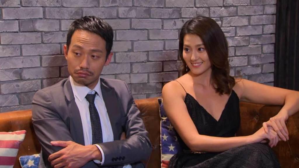 顏曉筠跟張哲豪在劇中有不少對手戲。(民視提供)