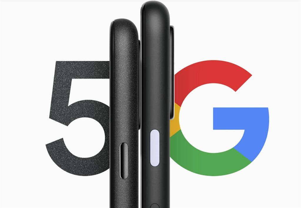 Google Store已經預告,旗下5G手機即將發表。(摘自Google Store)