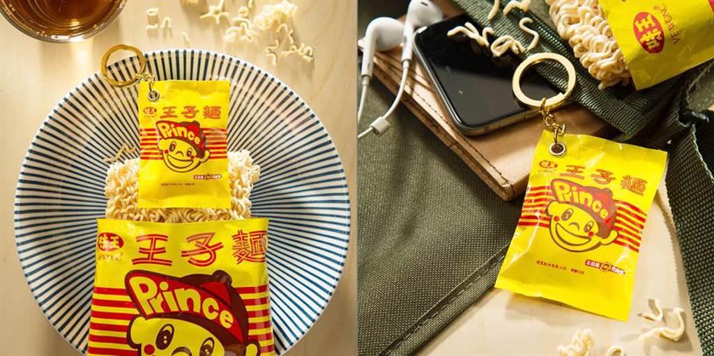 王子麵50歲囉!專屬3D造型悠遊卡值得收藏。(悠遊卡提供/黃慧雯台北傳真)