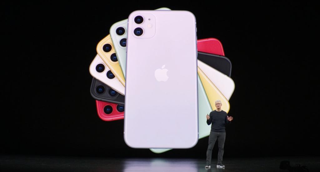 蘋果在美國時間2019年9月10日發表iPhone 11系列。(摘自蘋果官網)