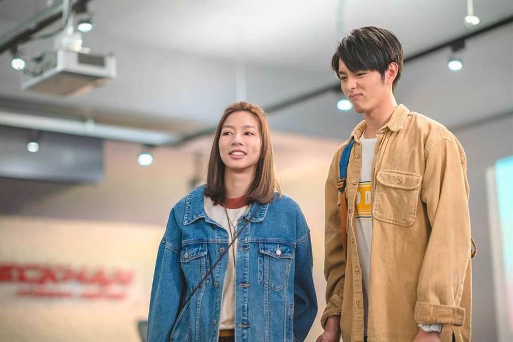 陳妤和曹佑寧飾演青梅竹馬。(華映娛樂提供)