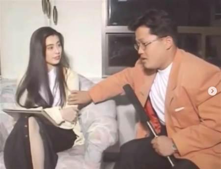 王祖賢遭韓國男主持摸手臂 「啊~」一聲慘叫影片瘋傳
