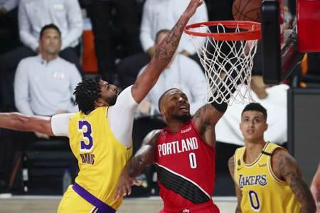 NBA》一眉哥爆發 湖人橫掃拓荒者扳平