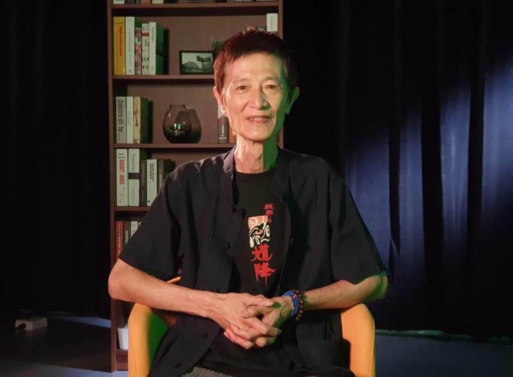 資深演員陳博正接受《中時新聞網》專訪,談到昔日出外景在旅社驚見8個不友善惡鬼的經驗。(照片/游定剛 拍攝)
