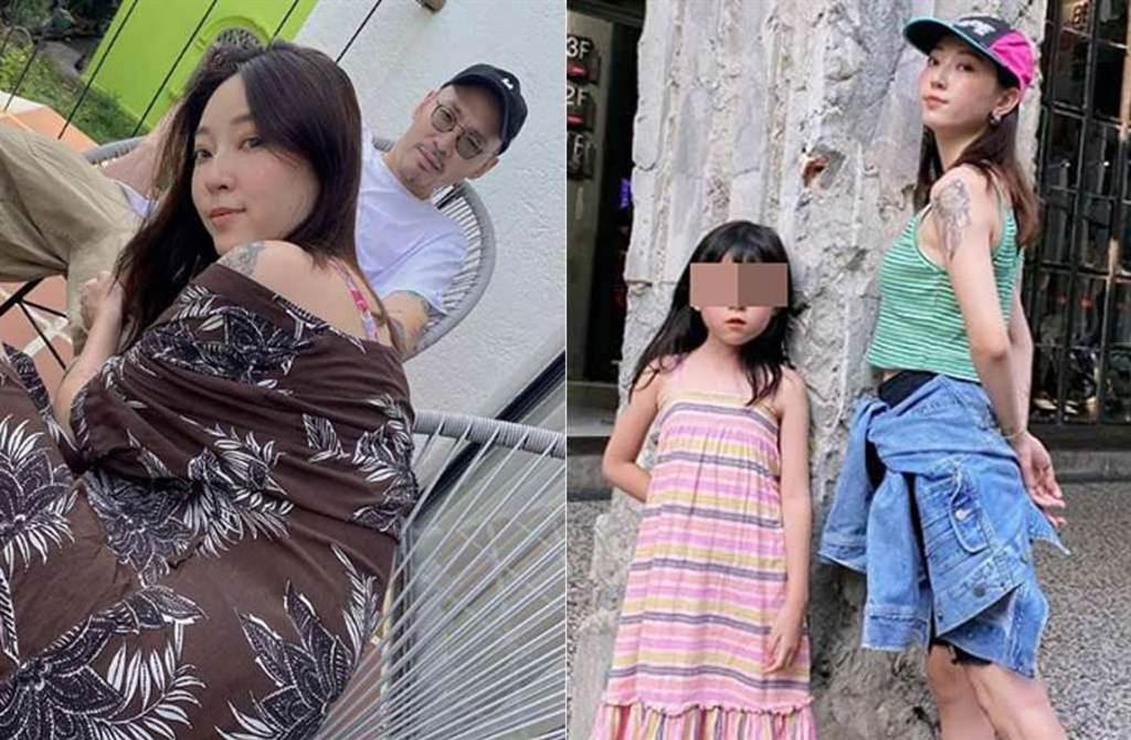 張菲辣媳翁馨儀被6歲女兒嗆聲「幹嘛生我們」,氣到直接離開。(取材自翁馨儀IG)