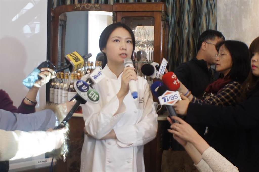 樂沐法式餐廳曾連續4年入選「亞洲50最佳餐廳」,陳嵐舒也曾獲得「2014年凱歌香檳亞洲最佳女廚師」,可惜在2018年底結束營業(馮惠宜攝)