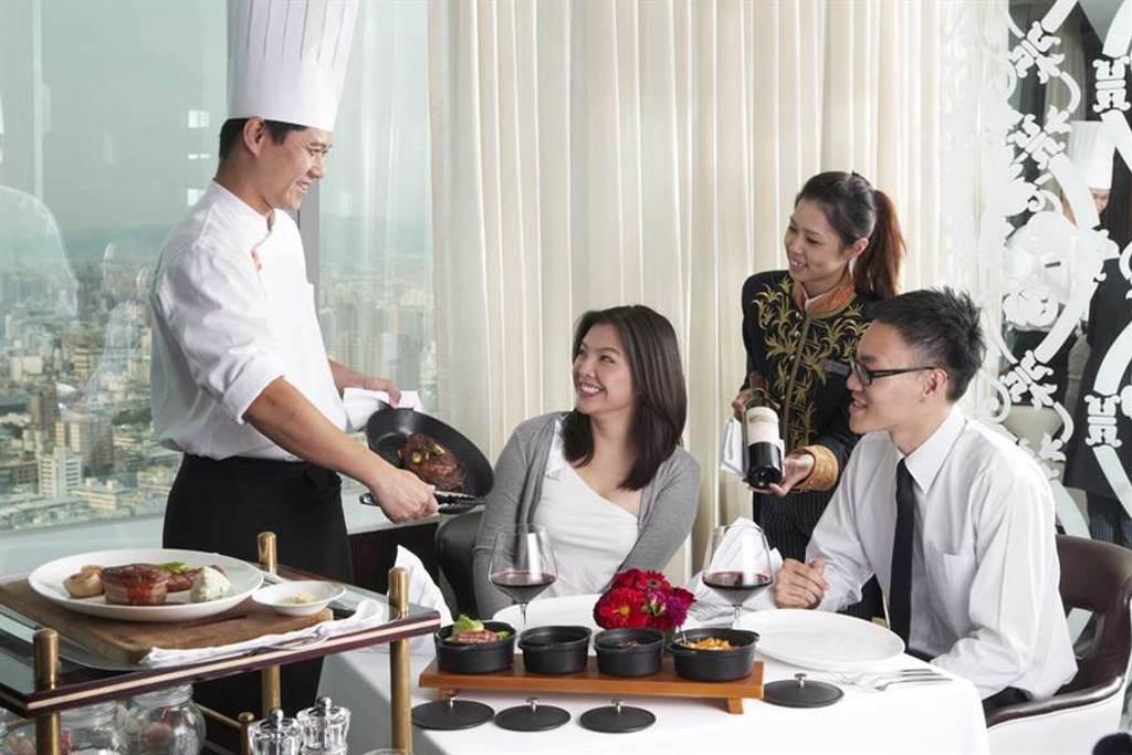 因不敵疫情在今年3月結束營業的亞緻飯店,其46樓頂餐廳跟著飯店一起走入歷史,也因此無緣入選米其林。(資料照片)