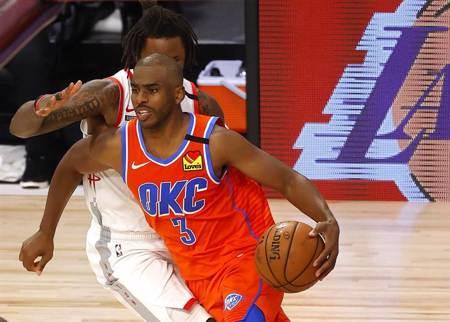 NBA》不讓火箭聽牌 保羅領雷霆延長險勝