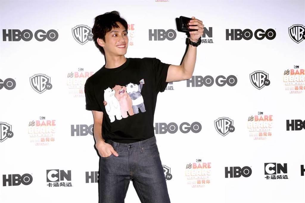 范少勳本來就是《熊熊遇見你》的粉絲。(WarnerMedia提供)