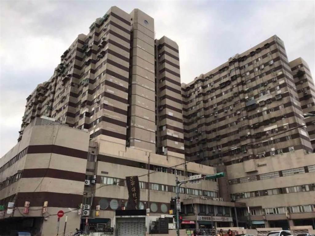 西寧國宅是不少網友異口同聲台北最陰大樓No.1。(圖/報系資料照)