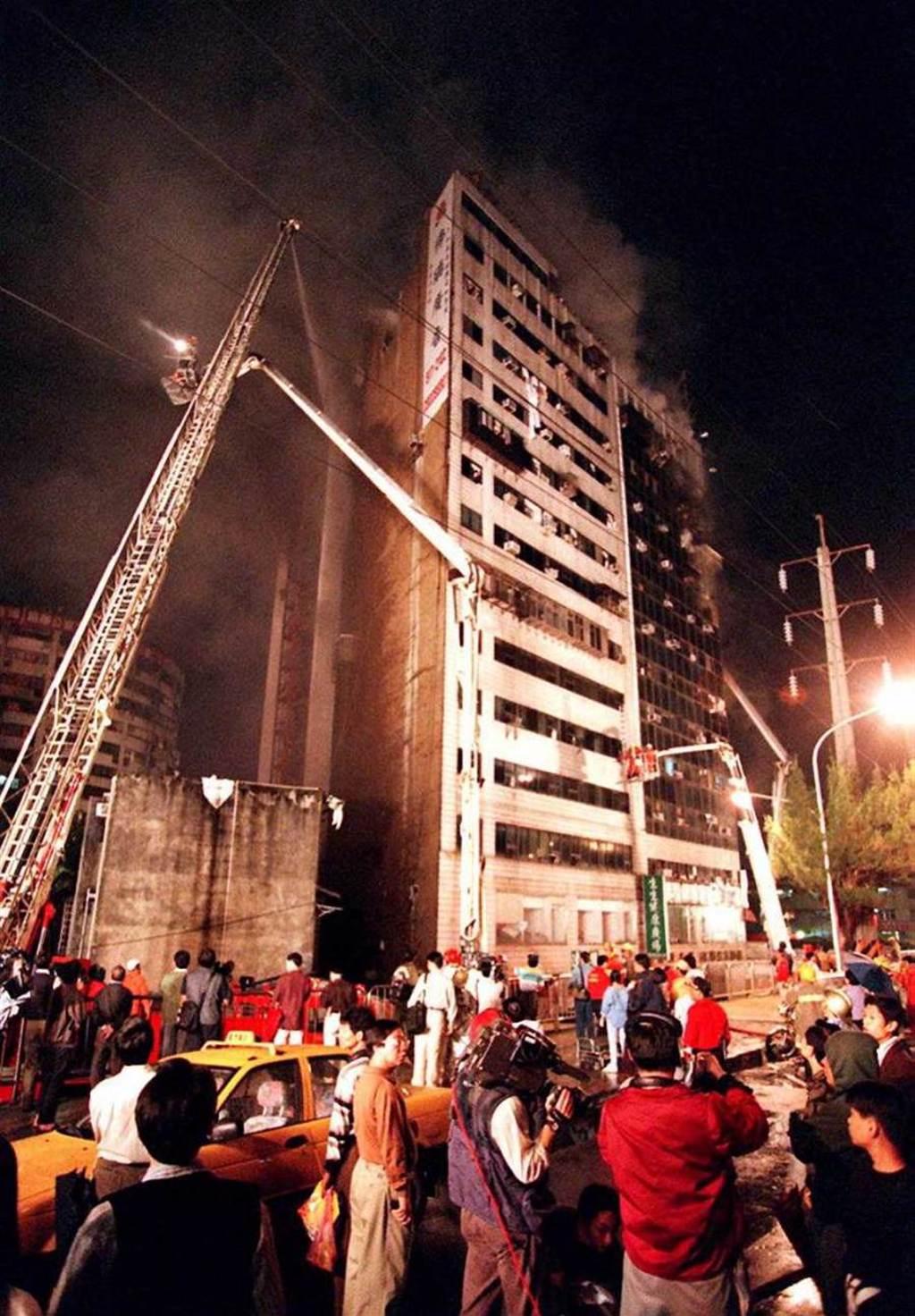 錦新大樓30多年來爆數起命案和火警。(圖/報系資料照)