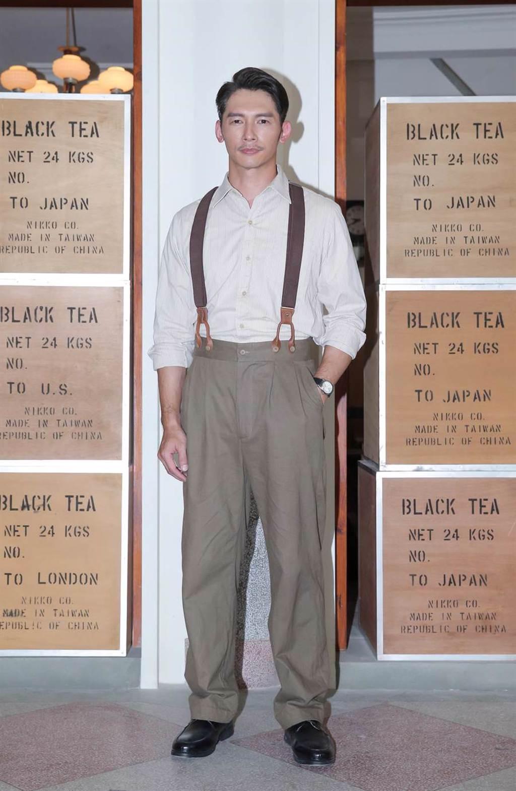 溫昇豪帶著使命感演出《茶金》。(盧禕祺攝)