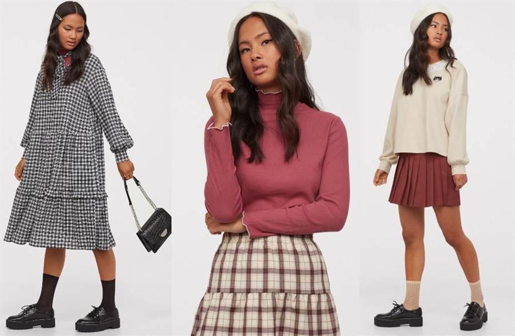 H&M DIVIDED 2020 亞洲時尚森林女孩系列 初秋必備散發清新氧氣感(圖/品牌提供)