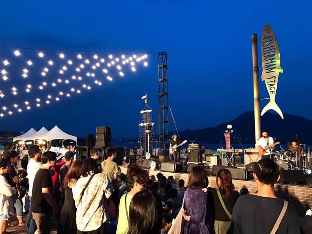 2020新北市河海音樂季下月開跑,9月12日起一連3周末在「淡水漁人舞台」打造大型戶外演唱會。(新北市觀光局提供/許哲瑗新北傳真)