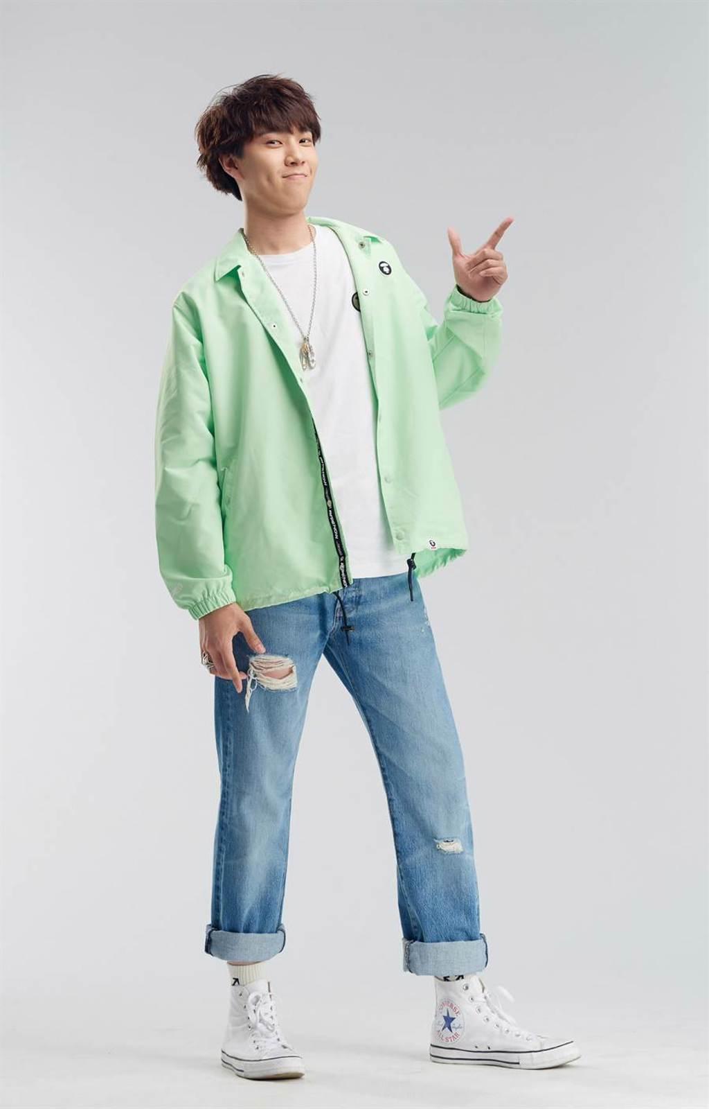 張宋是魏奇奇的學弟。(爆爆音樂提供)
