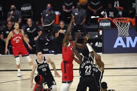NBA》灰頭土臉!籃網慘遭暴龍橫掃出局