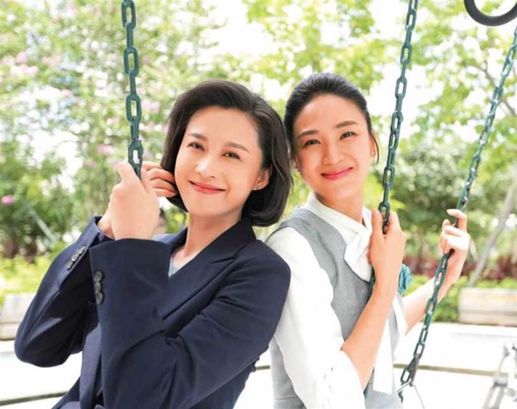 經常演出都會女性的洪小鈴,在大陸劇《幸福敲了兩次門》中,挑戰以往不同類型的角色。(圖/翻攝自洪小鈴臉書)
