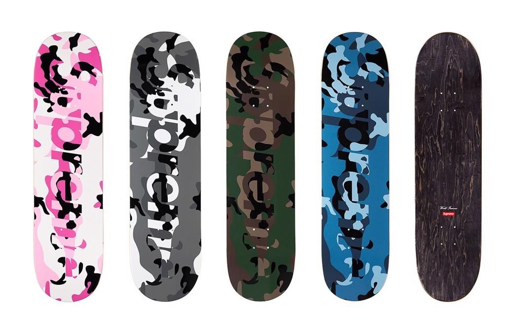 每季定番的滑板板身系列
