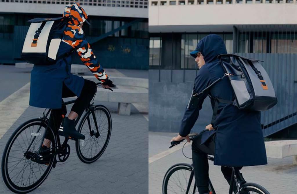 AIGLE X URBAN CIRCUS 專為都會騎士量身打造的機能時尚商品(圖/品牌提供)