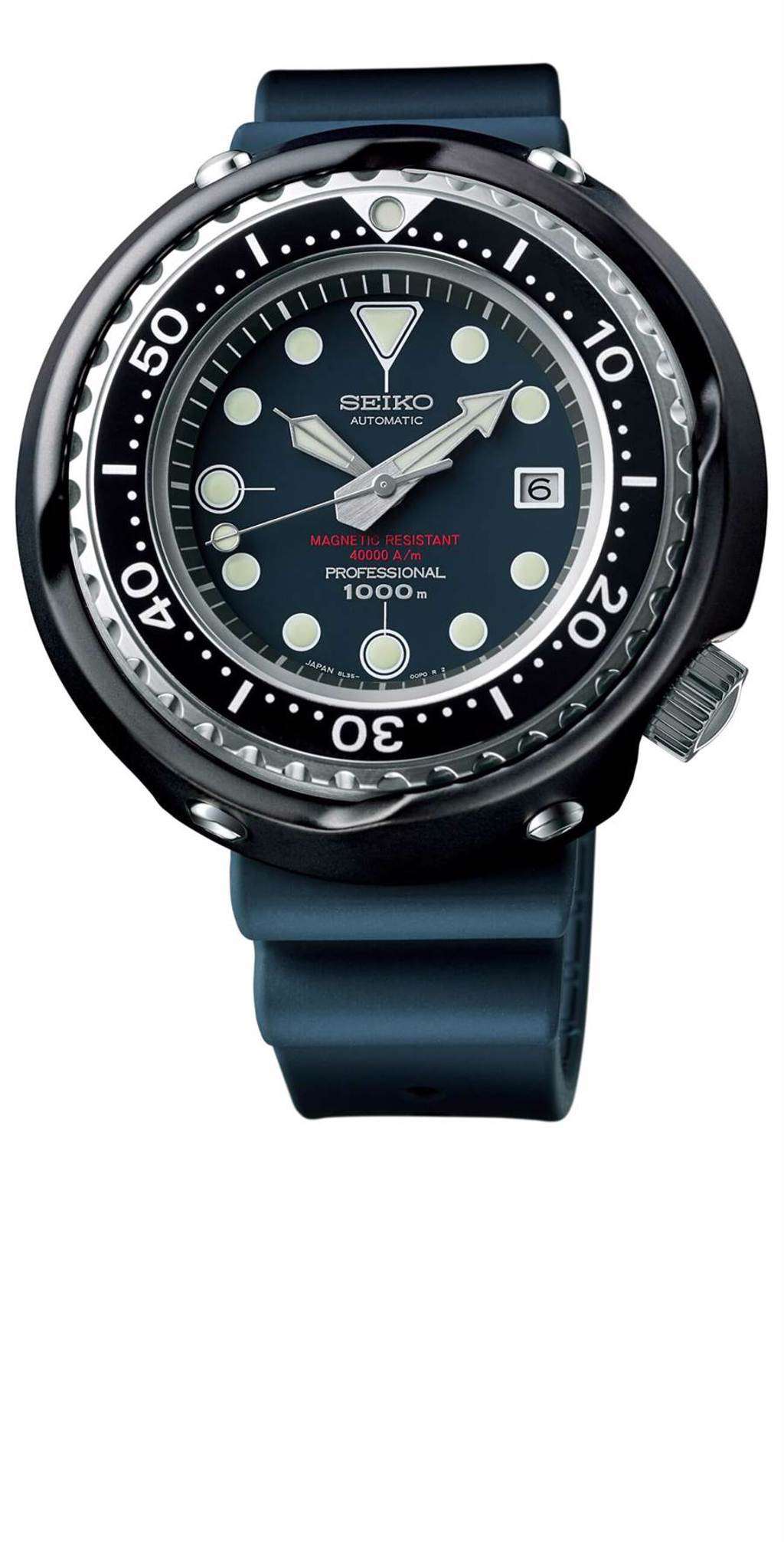 SEIKO Prospex 1975復刻版潛水表,防水1000米,限量55只,14萬8000元。(SEIKO提供)