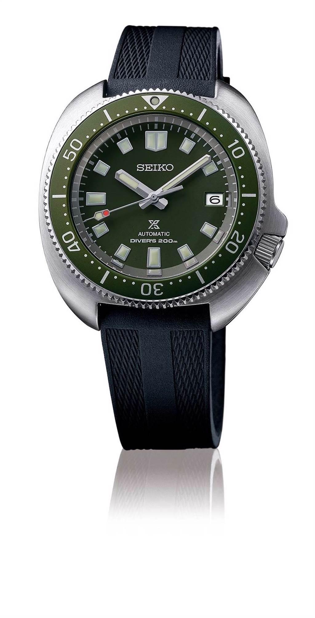 SEIKO Prospex 1970復刻現代表款,防水200米,3萬7000元。(SEIKO提供)