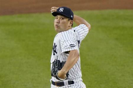 MLB》田中將大本季首勝 洋基中止對光芒6連敗