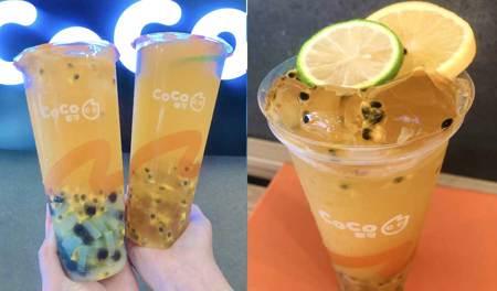 喝搖搖怎麼能不加料? CoCo新推出「百香檸檬搖搖凍」挑戰你的咀嚼肌