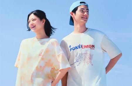 日本平價服飾聯名「Pokémon」系列第二彈登場 必收紮染、異材質混搭單品